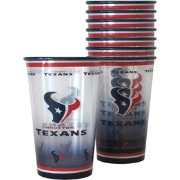 Boelter Houston Texans Souvenir 20oz Plastic Cup 8-Pack