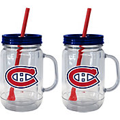Boelter Montreal Canadiens 20oz Handled Straw Tumbler 2-Pack