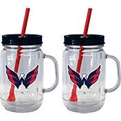 Boelter Washington Capitals 20oz Handled Straw Tumbler 2-Pack
