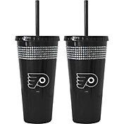 Boelter Philadelphia Flyers Bling 22oz Straw Tumbler 2-Pack