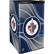 Boelter Winnipeg Jets Counter Top Height Refrigerator