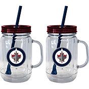 Boelter Winnipeg Jets 20oz Handled Straw Tumbler 2-Pack