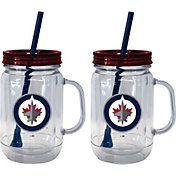 Boelter Winnipeg Jets 20oz Handled Straw Tumbler 2-Pack