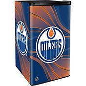 Boelter Edmonton Oilers Counter Top Height Refrigerator