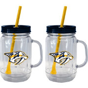 Boelter Nashville Predators 20oz Handled Straw Tumbler 2-Pack