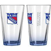 Boelter New York Rangers 16oz Elite Pint 2-Pack