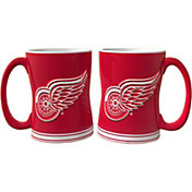 Boelter Detroit Red Wings Relief 14oz Coffee Mug 2-Pack