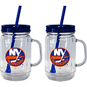 Boelter New York Islanders 20oz Handled Straw Tumbler 2-Pack