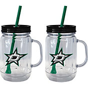 Boelter Dallas Stars 20oz Handled Straw Tumbler 2-Pack