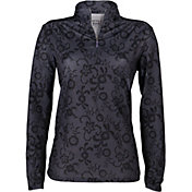 Bette & Court Women's Cool Elements Lacey Long Sleeve Golf Mock