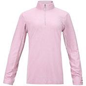 Bette & Court Women's Cool Elements Mesh Long Sleeve Golf Polo