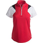 Bette & Court Women's Swift Colorblock Golf Polo