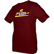 boxercraft Men's Central Michigan Chippewas Maroon Just for You Crew Wordmark and Logo T-Shirt