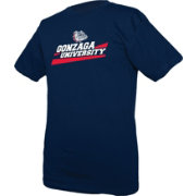 boxercraft Men's Gonzaga Bulldogs Blue Just for You Crew Wordmark and Logo T-Shirt