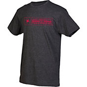 boxercraft Men's Richmond Spiders Grey Just for You Crew Block Wordmark and Logo T-Shirt