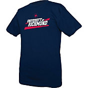 boxercraft Men's Richmond Spiders Blue Just for You Crew Wordmark and Logo T-Shirt