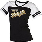 boxercraft Women's UCF Knights Black/White Powder Puff T-Shirt