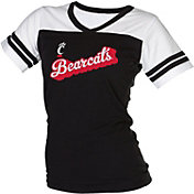 boxercraft Women's Cincinnati Bearcats Black/White Powder Puff T-Shirt