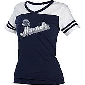 boxercraft Women's Old Dominion Monarchs Blue/White Powder Puff T-Shirt
