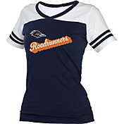 boxercraft Women's UT San Antonio Roadrunners Blue/White Powder Puff T-Shirt