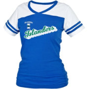 boxercraft Women's Texas A&M-CC Islanders Blue/White Powder Puff T-Shirt