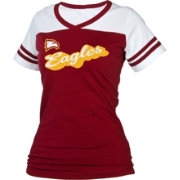 boxercraft Women's Winthrop Eagles Garnet/White Powder Puff T-Shirt