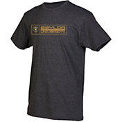 boxercraft Youth Baylor Bears Grey Just for You Crew Wordmark and Logo T-Shirt