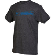 boxercraft Youth DePaul Blue Demons Grey Just for You Crew Wordmark and Logo T-Shirt