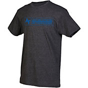 boxercraft Youth Air Force Falcons Grey Just for You Crew Wordmark and Logo T-Shirt