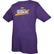 boxercraft Youth Northern Iowa Panthers Purple Just for You Crew Wordmark and Logo T-Shirt