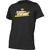 boxercraft Youth Southern Miss Golden Eagles Just for You Crew Wordmark and Logo Black T-Shirt