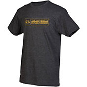 boxercraft Youth Southern Miss Golden Eagles Grey Just for You Crew Wordmark and Logo T-Shirt