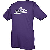 boxercraft Youth TCU Horned Frogs Purple Just for You Crew Wordmark and Logo T-Shirt