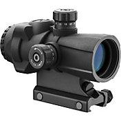 Barska AR-X Pro 3x30 Cross-Dot Reticle Prism Scope - Black