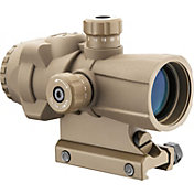 Barska AR-X Pro 3x30 Cross-Dot Reticle Prism Scope - Tan
