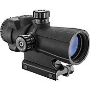 Barska AR-X Pro 4x32 Cross-Dot Reticle Prism Scope - Black
