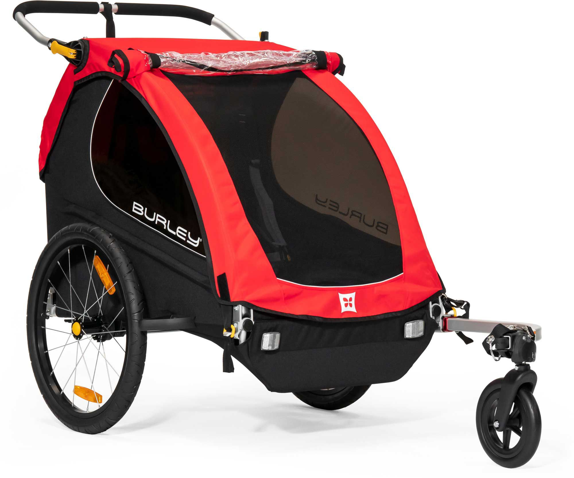 Burley Honey Bee Double Bike Trailer and Stroller| DICK'S Sporting ...