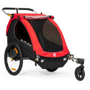Burley Honey Bee Double Bike Trailer and Stroller