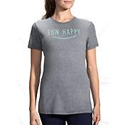 Brooks Women's Run Happy Smile Short Sleeve Shirt