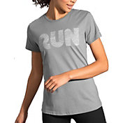 Brooks Women's Run Mist Graphic Running T-Shirt