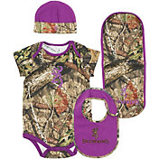 Browning Infant Girls' 4-Piece Camo Set