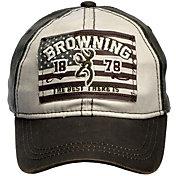 Browning Men's Buckmark Liberty Flag Hat