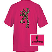 Browning Men's Custom Camo Buckmark T-Shirt
