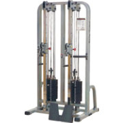 Body Solid Pro Clubline SDC2000G/1 Dual Cable Column Machine