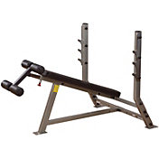 Body Solid Pro Clubline SDB351G Decline Olympic Weight Bench