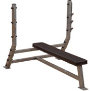 Body Solid Pro Clubline SFB349G Olympic Flat Weight Bench
