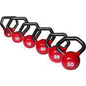Body Solid 5-30 lb. Vinyl Kettlebell Set