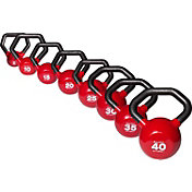 Body Solid 5-40 lb. Vinyl Kettlebell Set