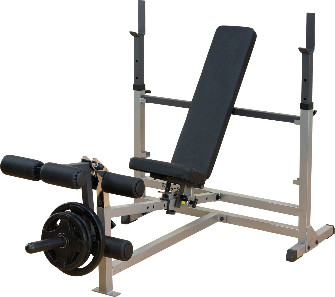 Body Solid Gdib46 L Olympic Weight Bench With Leg Developer by Body Solid
