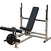 Leg Press & Curl Machines